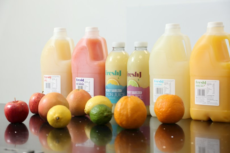 FreshJ Takes a Squeeze of Juice Market