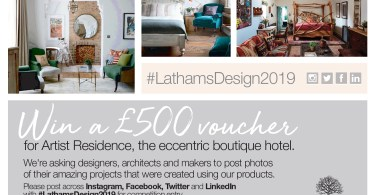 James Latham Search for Design Superstars
