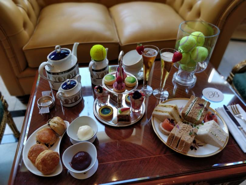 The Bentley Celebrate Wimbledon with an Ace Afternoon Tea