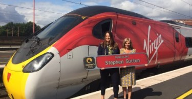 Virgin Trains Gives the Thumbs up to Stephen's Story
