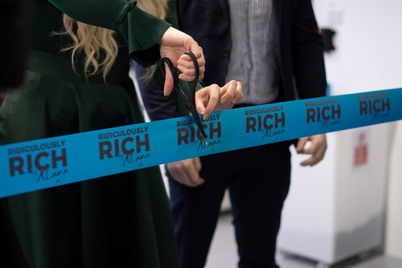 Ridiculously Rich by Alana launch party