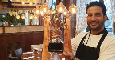 Swadish owner and executive chef Ajay Kumar crowned Scottish Curry Champion