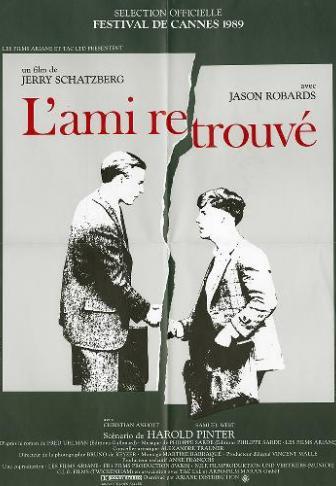 L Ami Retrouvé Film Streaming : retrouvé, streaming, L'Ami, Retrouvé, (1989),, Jerry, Schatzberg, Premiere.fr, News,, Sortie,, Critique,, Bande-annonce,, VOST,, Streaming, Légal
