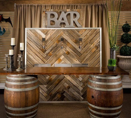 Wine Barrel Bar  Premiere Events