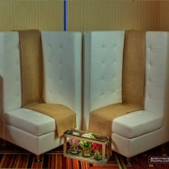 White Tufted Chair Hammock Swing Australia Corner Furniture Rentals In Austin Premiere Events