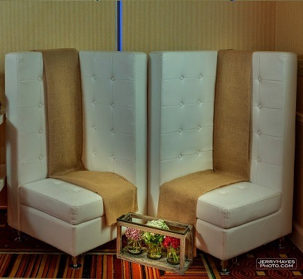 white tufted chair cover rentals lakeland fl corner furniture in austin premiere events