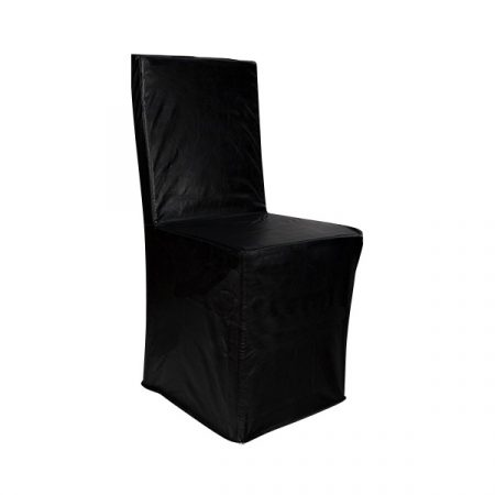 chair covers leather ergonomic lazada cover rentals in austin texas premiere events black contempo clad chiavari