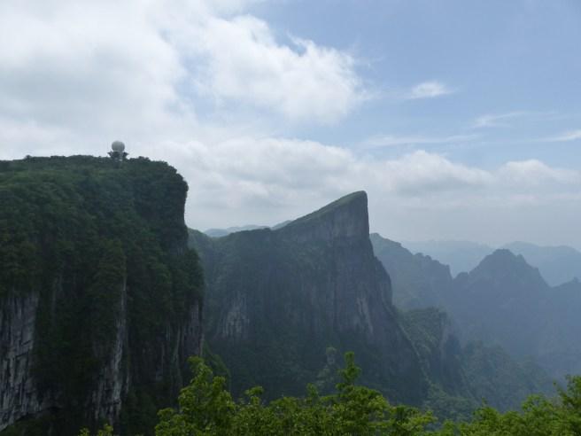 vue mont tianmen