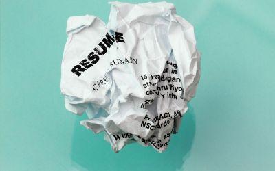 Top Resume Turn-offs