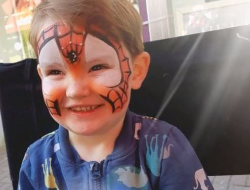 Cork face painting