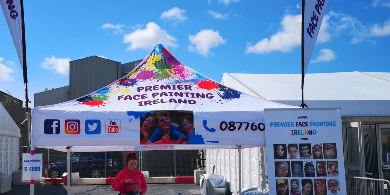 What a busy season!. From Dublin to Cork to Tralee. Face painting and Entertainment