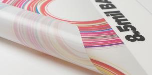 Backlit vinyl