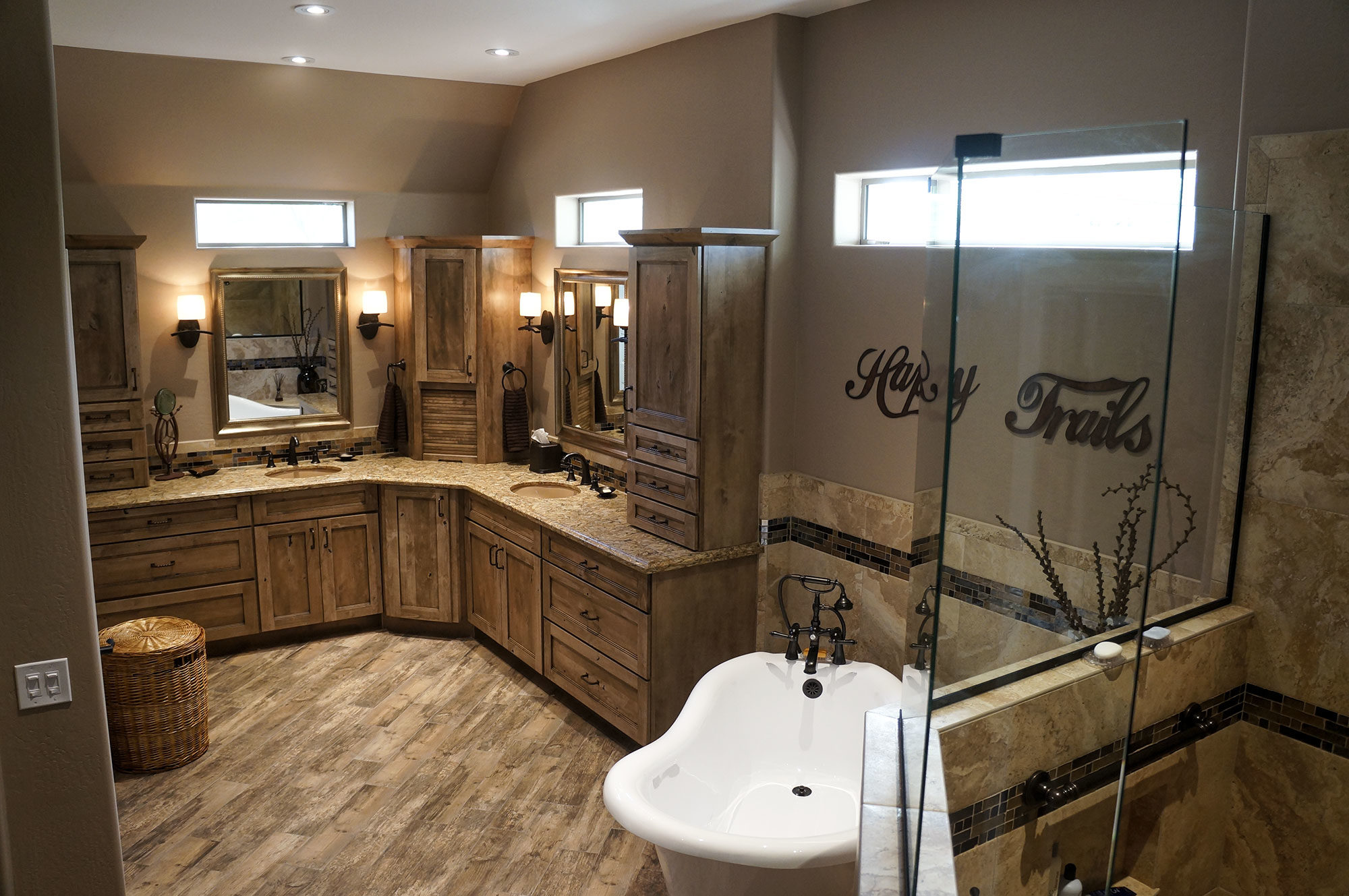 kitchen and bathroom remodel cabinets light wood sun lakes az