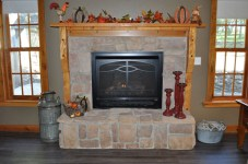 Twisted Tine Fireplace