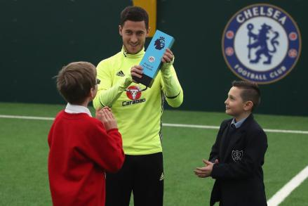 Image result for Hazard wins October player of the month