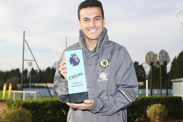 Pedro wins Carling Goal of the Month for November