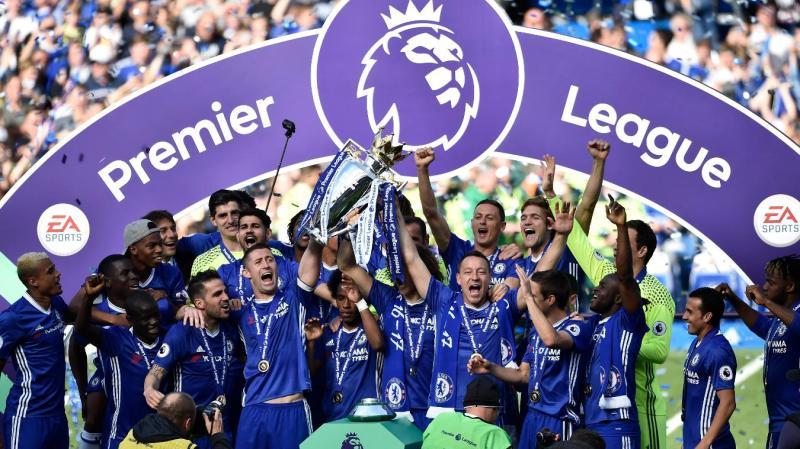 Chelsea Celebrate Premier League Title Triumph