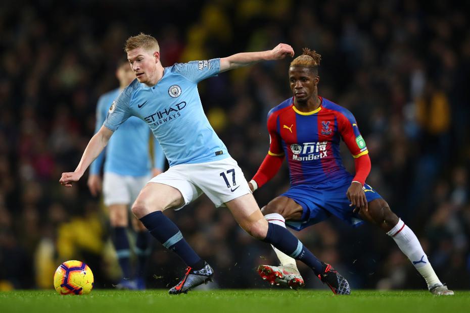 Manchester City V Crystal Palace Kevin De Bruyne