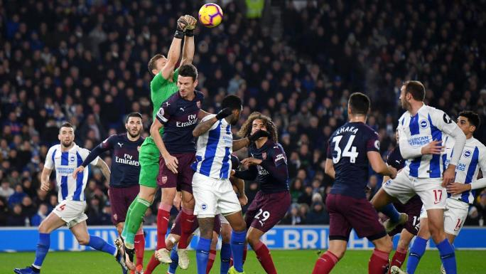 Brighton 1-1 Arsenal Highlights