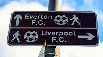 Everton vs Liverpool Derby
