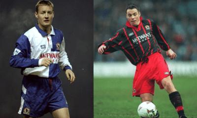 David Batty and Graeme Le Saux Blackburn Rovers