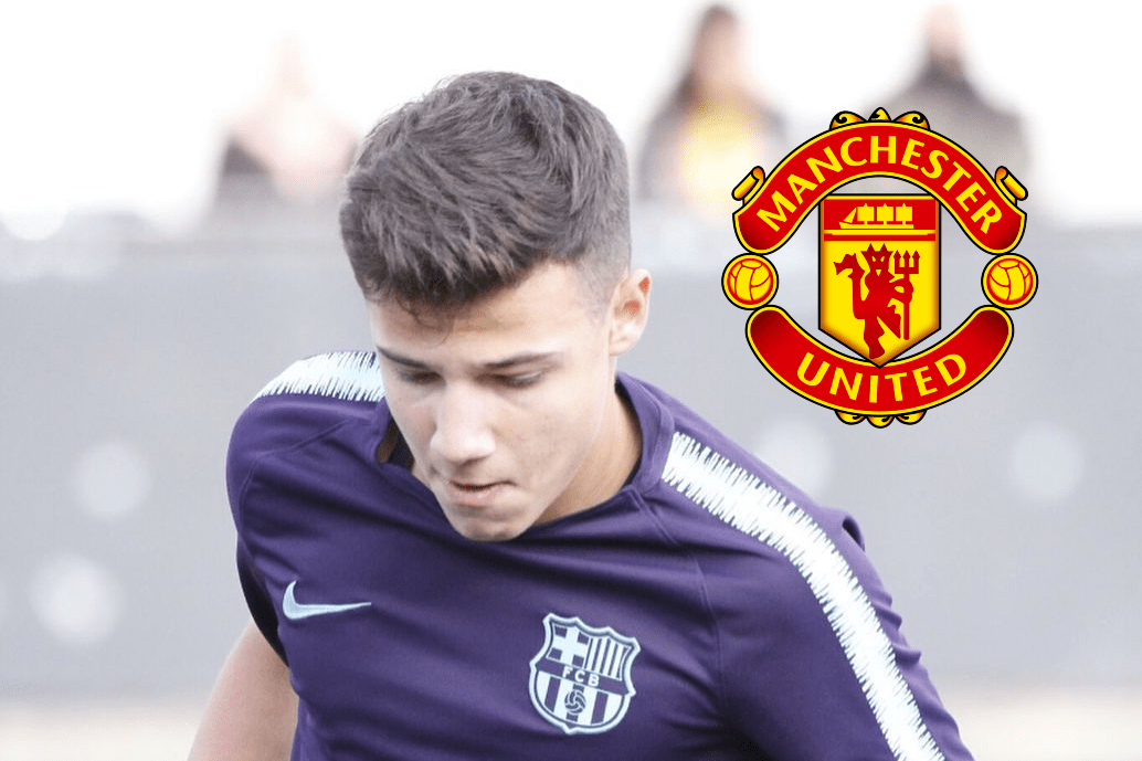 Manchester United to sign young Marc Jurado