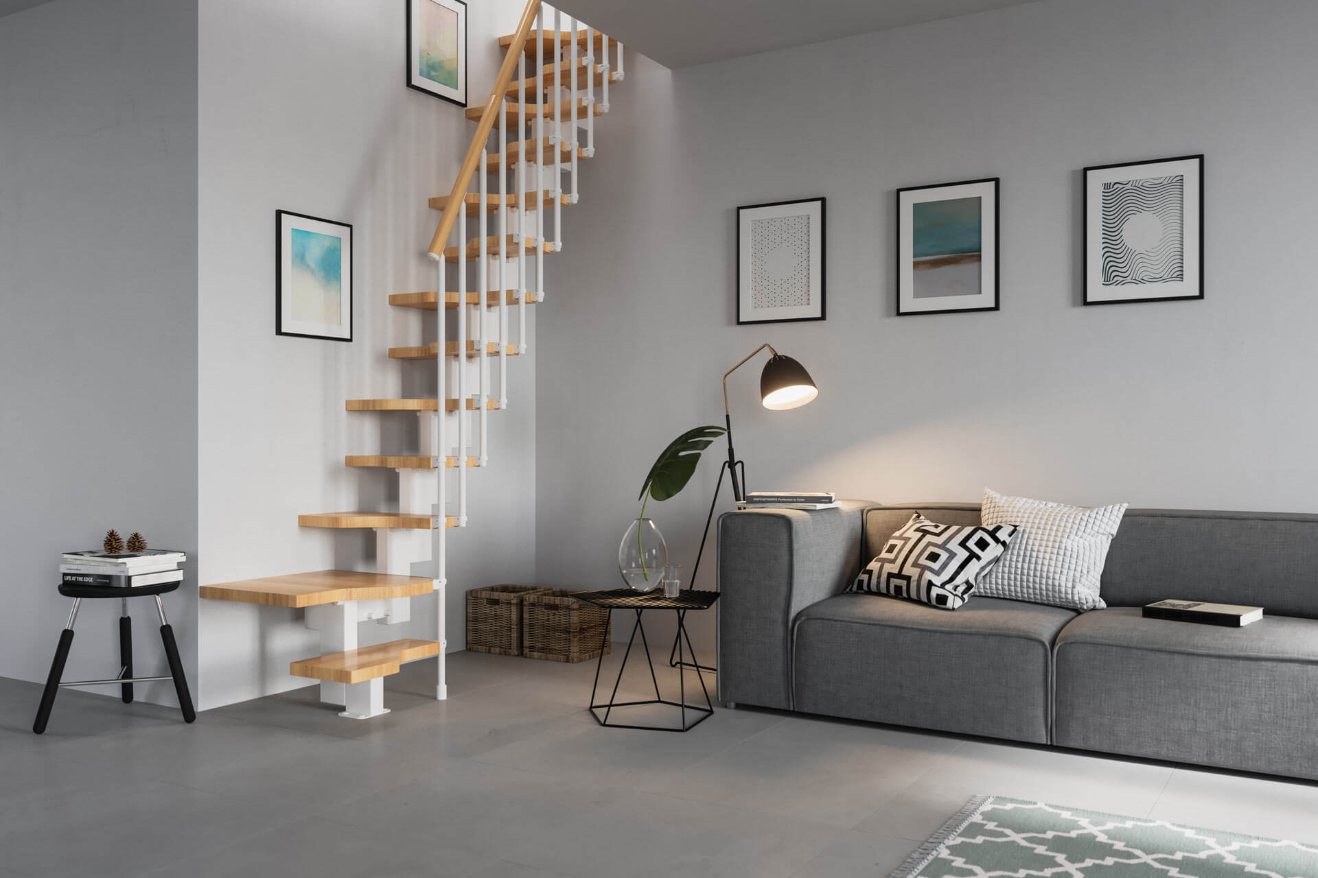 Space Saving Solutions From Premier Loft Ladders