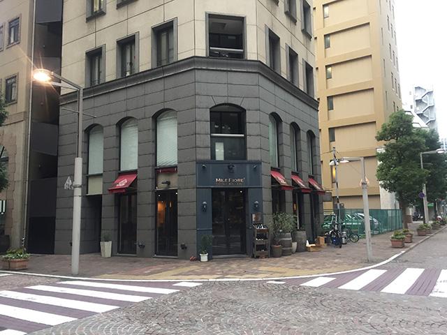 イタリア街のレストラン