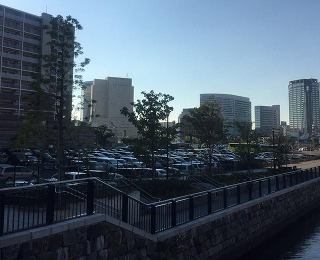 アパホテル&リゾート〈横浜ベイタワー〉建設地