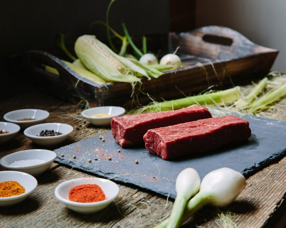 Premier Meat Company Hanger Steak Fresh Never Frozen Meat Delivery Sustainable Protein Beef Raw Perfect