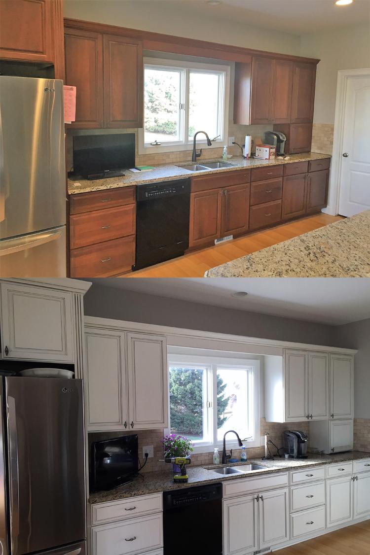 Kitchen Cabinet Refinishing Premier Painting