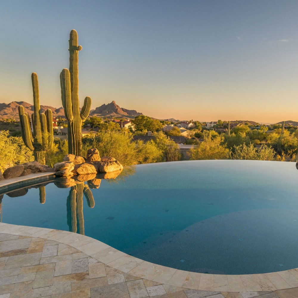 Infinite Canyon Views Fountain Hills Arizona Premier