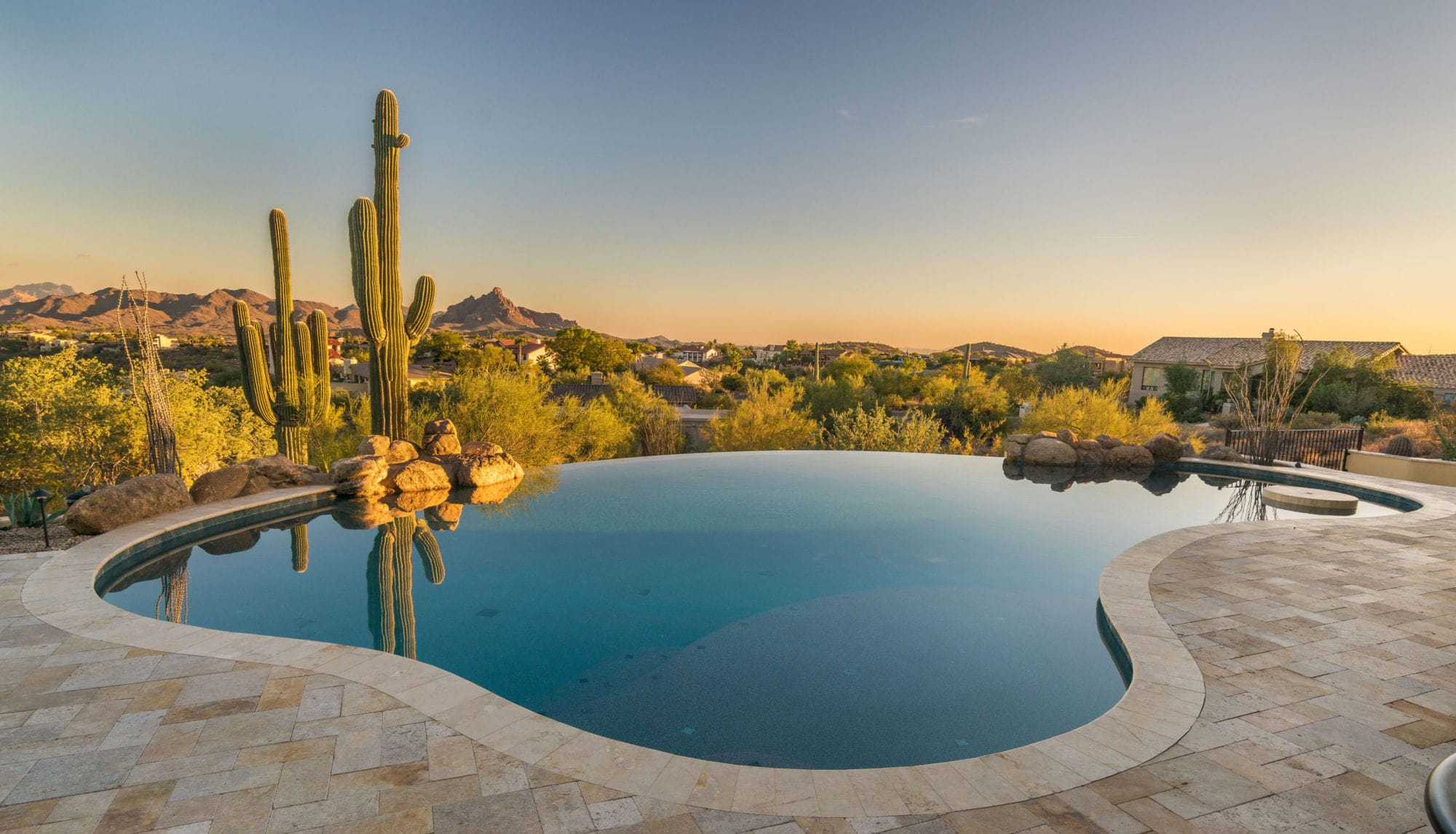Infinite Canyon Views  Fountain Hills Arizona  Premier Paradise Inc