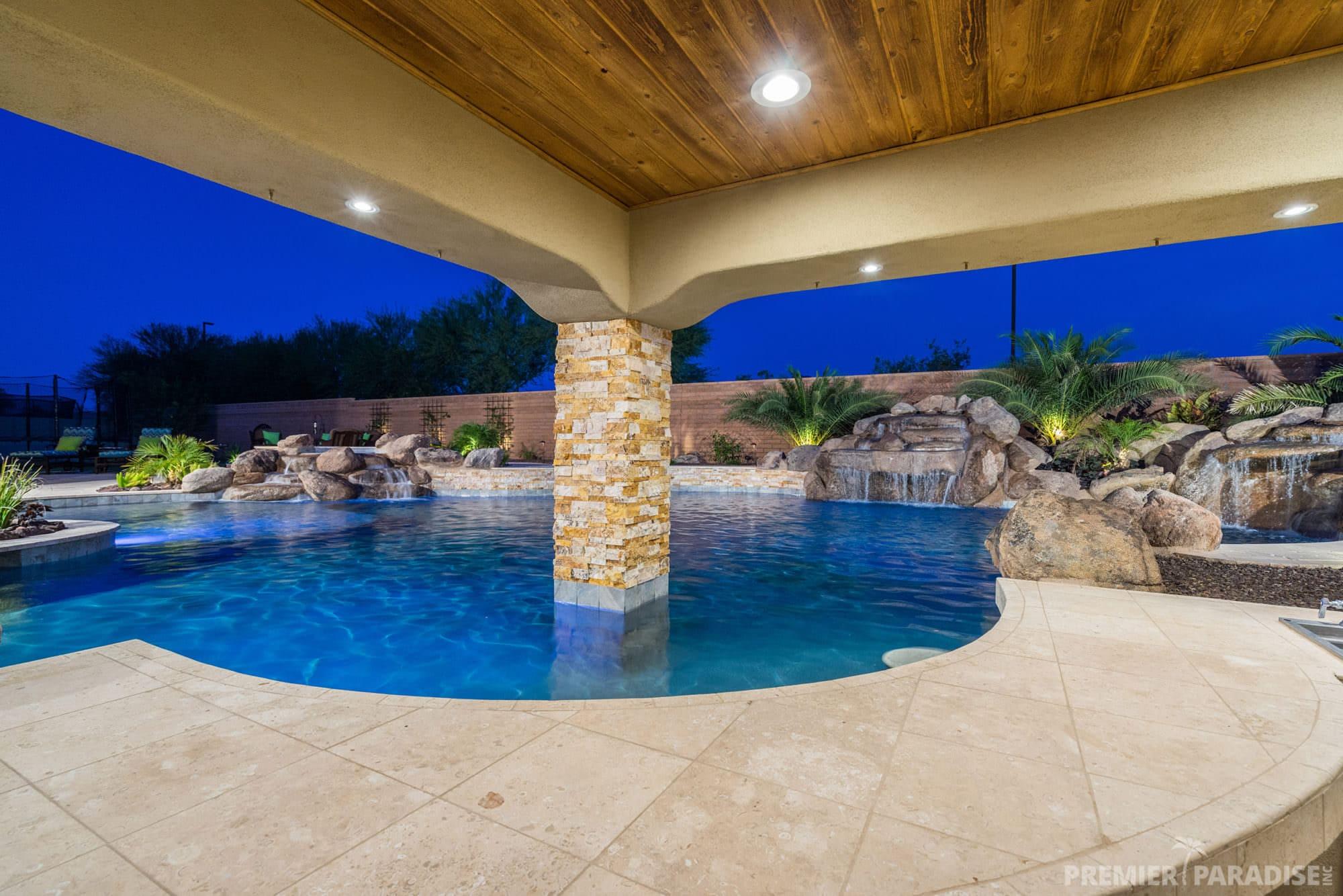 Backyard Boulder Living  Gilbert Paradise  Premier