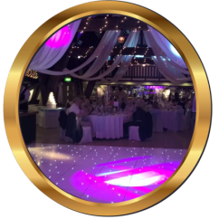 Chair Covers To Hire Liverpool Rocking Runners Led Dance Floor Uk   Premier Party Events Limited