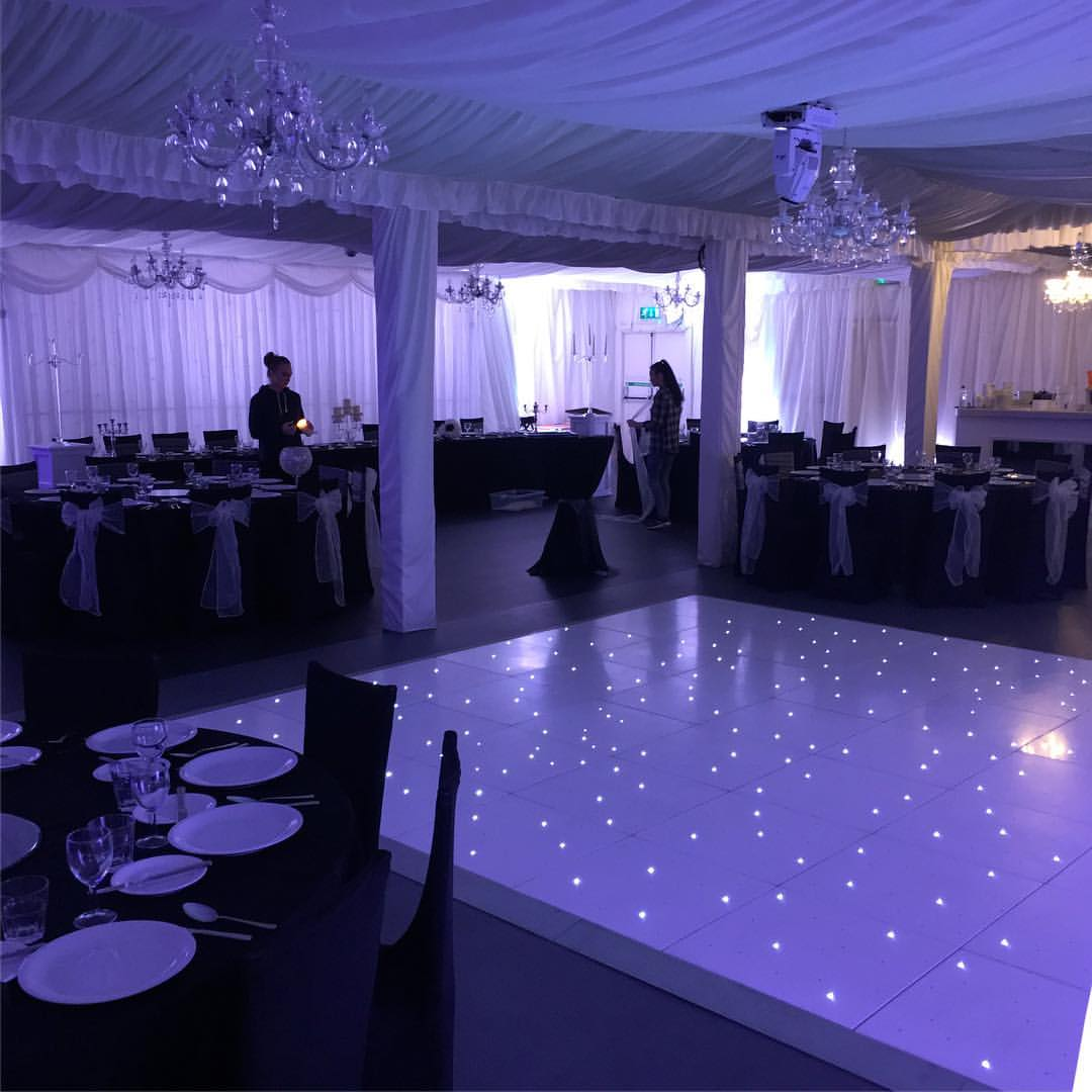 chair cover hire merseyside kmart bean bag liverpool led dance floors centre pieces and table