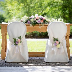 Chair Covers For Weddings Modern White Leather Swivel Events Venue Dressing Table Premier Party Wedding
