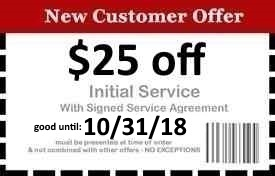 Naples Pest Control Coupon Good Until 10/31/18