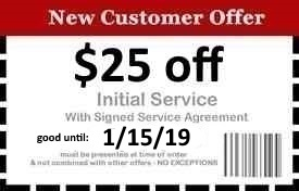 Naples Pest Control Coupon Good Until 1/15/19