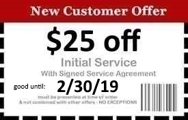 Naples Pest Control Coupon Good Until 2/30/19