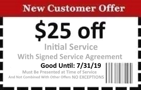 Naples Pest Control Coupon Good Until 7/31/19