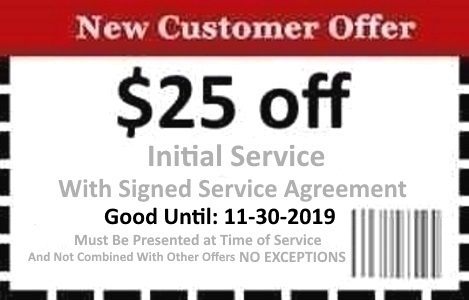 Naples Pest Control Coupon Good Until 11/30/19