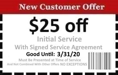 Naples Pest Control Coupon Good Until 03/31/2020