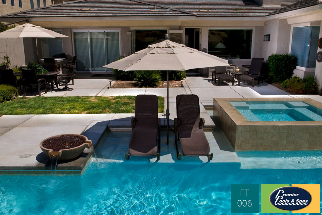 Custom Pool Features  Premier Pools  Spas