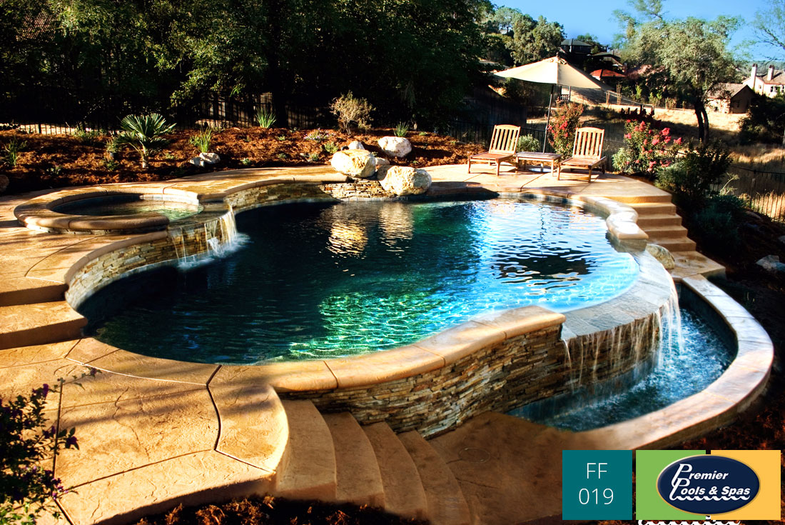 Freeform Swimming Pools  Premier Pools  Spas