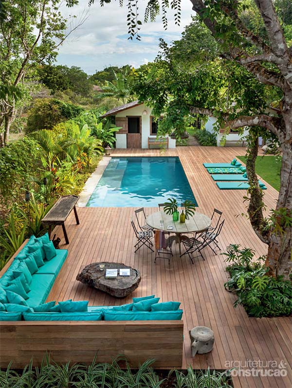 south florida enchanting pool modern
