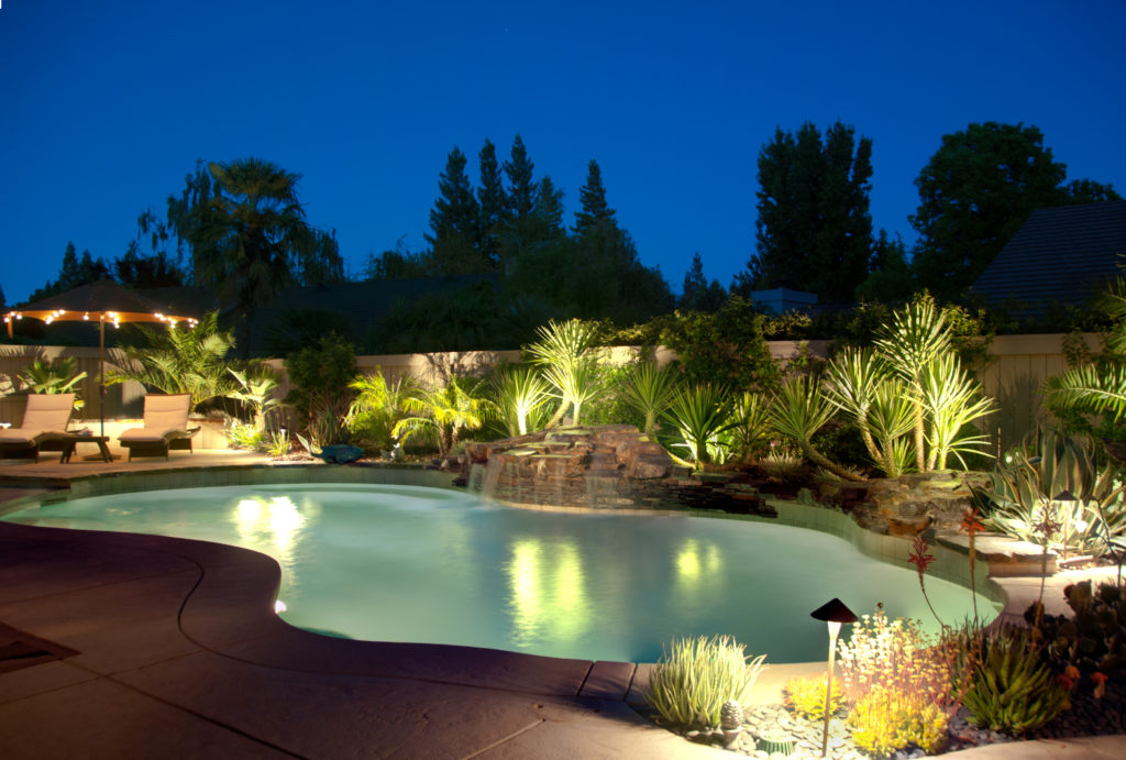 benefits of pool lighting in the