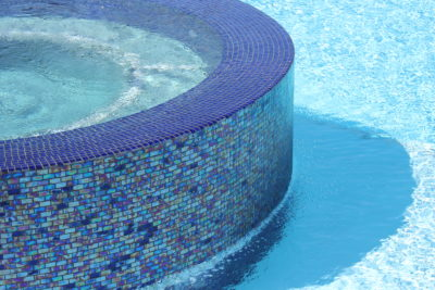 how do you fix pool tile grout