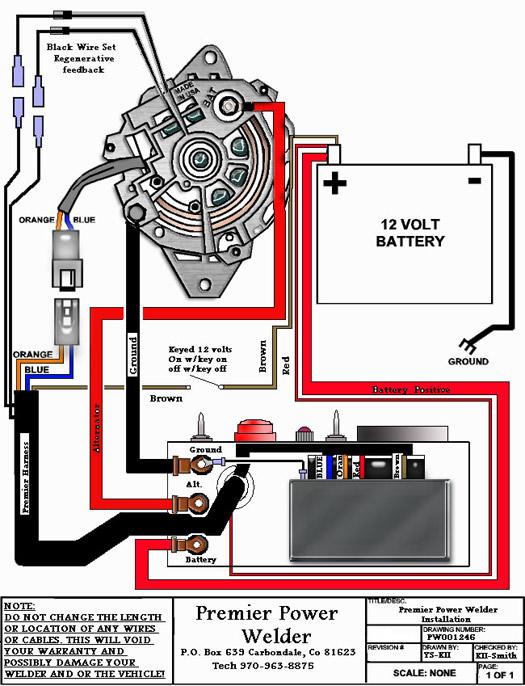 Intallation Diagrams & Photos  Premier Power Welder
