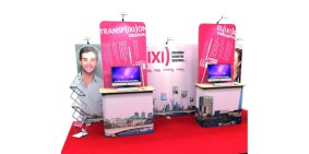 Modular Stand with Foamex Displays